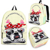 French Bulldog Backpack Bag Jan03ph