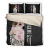 Hedgehog Half Face Bedding Set 1610s1