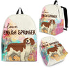 English Springer Backpack Bag Ja03VA