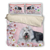 Old English Sheepdog Bedding Set Fl Khnova2a