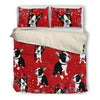 Boston Terrier 0910 Bedding duvet
