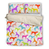 Rhodesian Ridgeback Bedding Set White 30deva1