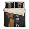 Rhodesian ridgeback Half Face Bedding Set 1610s1