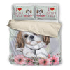 Shih Tzu  Bedding Set 1210s3