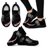 Weimaraners  Sneakers Women  Black C02Jadl