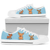 Chihuahua Light blue  Low Top