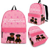 Rottweiler Backpack Bag A35DL