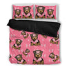 Yorkie Bedding Set White Ja04TP