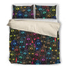 Black and Tan Coonhound Bedding Set 309b