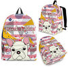 French Bulldog Backpack Bag A62NTP