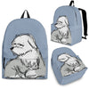 Old English Sheepdog Backpack Bag B2NTP