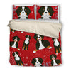 Bernese Mountain  1810 Christmas Bedding duvet