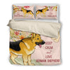 German Shepherd KC Bedding Set 2410m1