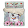 Bichon Frises Bedding Set 1910s1