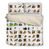 German Shepherd Bedding Set B2110