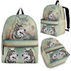 Alaskan Malamute Backpack Bag Ma16VA2