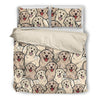 Golden retriever Bedding Set 269a