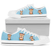 Yorkie Light Blue Low Top