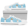 Jack Russell Light Blue Low Top