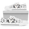 Dalmatian Paws Low Top