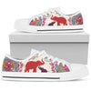 Elephant Mandala Low Top