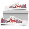 Horse Mandala Low Top