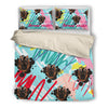 German Shepherd Bedding Set White Ja04HV