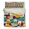 French Bulldog Phone Bedding Set 2510h1