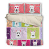 Bull Terrier 2410 Cute Bedding Duvet