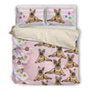 German Shepherd Bedding Set Fl Khnop