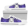 Border Collie Purple low Top