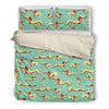 Dachshund Bedding duvet 219Vs1