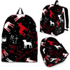 Boston Terrier Backpack Bag A1