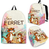 Ferret  Backpack Bag Jan02va