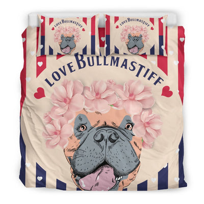 Bull Mastiff Bedding Sets Black 6-8T2