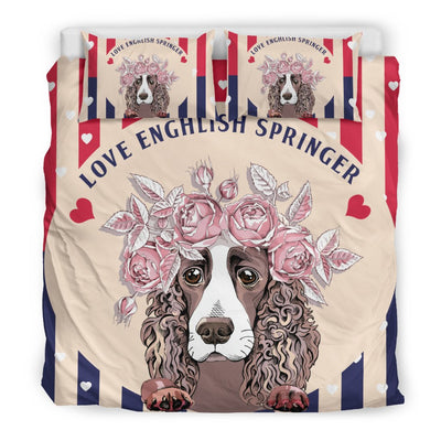 English Springer Bedding Sets W1-10T2