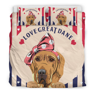 Great Dane Bedding Sets New Black 6-23T2