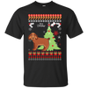 Cocker Spaniel Christmas T-shirts G200 Gildan Ultra Cotton