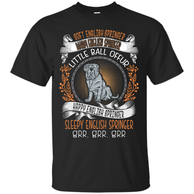 Happy english springer Tshirt G200 Gildan Ultra Cotton T-Shirt