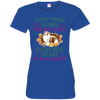 Sheltie Snack Tshirt 3516 LAT Ladies' Fine Jersey T-Shirt