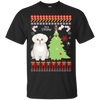 Bichon Frises Christmas T-shirts G200 Gildan Ultra Cotton