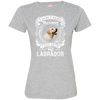 I JUST NEED - labrador 3516 LAT Ladies' Fine Jersey T-Shirt