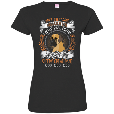 Happy great dane Tshirt 3516 LAT Ladies' Fine Jersey T-Shirt
