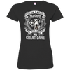 I JUST NEED - great dane 3516 LAT Ladies' Fine Jersey T-Shirt