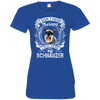 I JUST NEED - schnauzer 3516 LAT Ladies' Fine Jersey T-Shirt