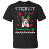 Basset Hound Christmas T-shirts G200 Gildan Ultra Cotton T-Shirt