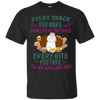 Malteses Snack Tshirt G200 Gildan Ultra Cotton T-Shirt