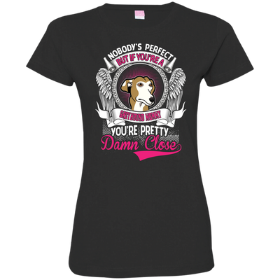 Greathound mommy Tshirt 3516 LAT Ladies' Fine Jersey T-Shirt