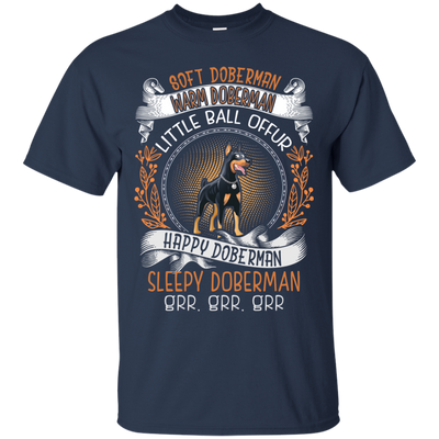 Happy doberman Tshirt G200 Gildan Ultra Cotton T-Shirt