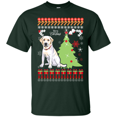 Labrador retriever Christmas T-shirts G200 Gildan Ultra Cotton
